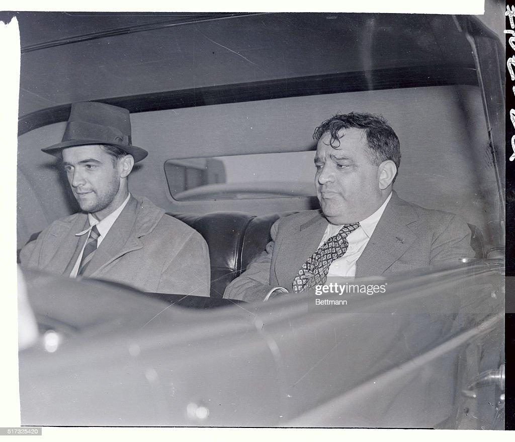 4beec32a1e7b8 Howard Hughes with Fiorella LaGuardia After Round-the-World Flight   News  Photo
