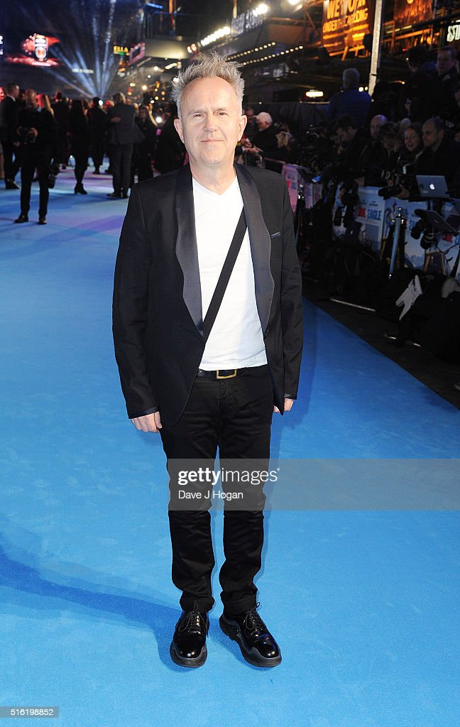 Howard Jones attends the European premiere of 'Eddie The Eagle' at Odeon Leicester Square on March 17, 2016 in London, England.