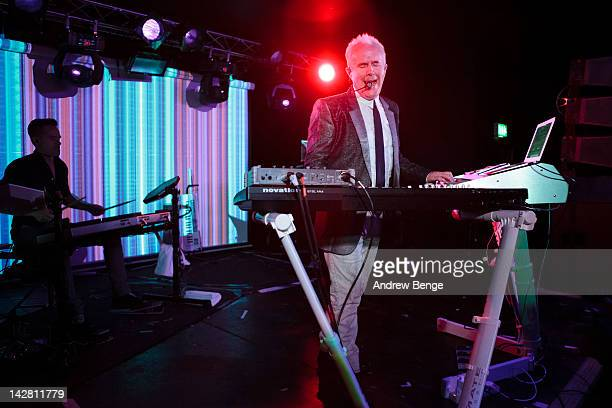 Howard Jones performs on stage at O2 Academy on April 12 2012 in Sheffield United Kingdom