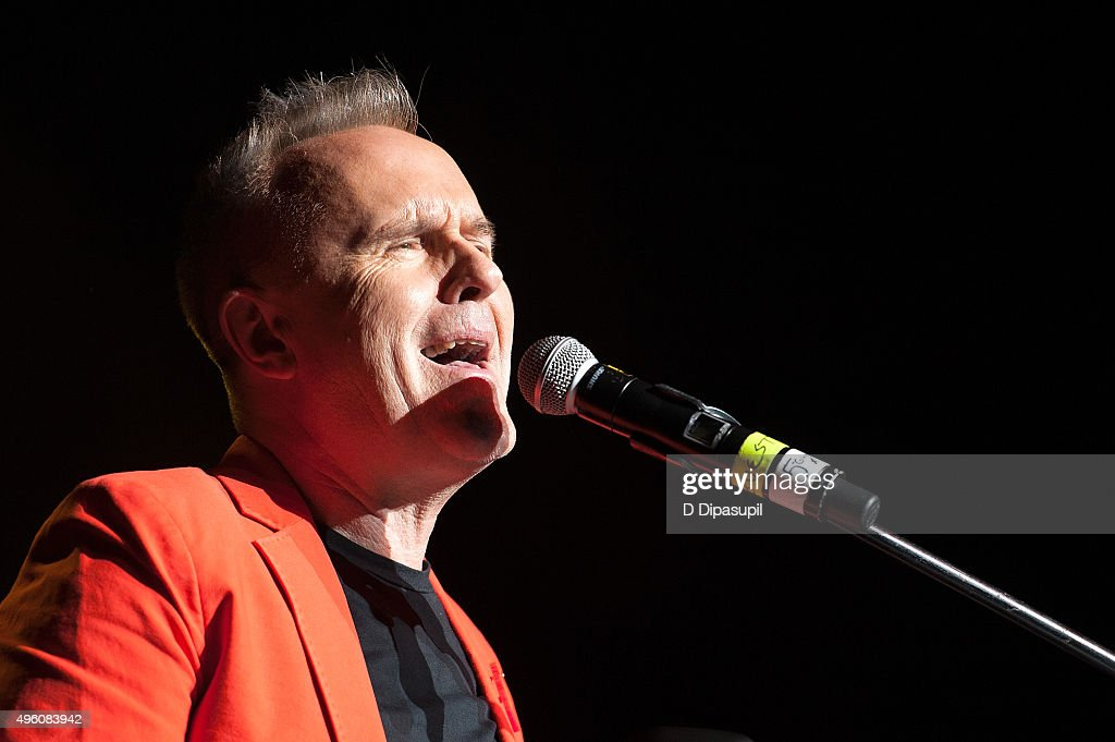 Howard Jones performs onstage during the 'I Want My 80's' concert at The Theater at Madison Square Garden on November 6, 2015 in New York City.