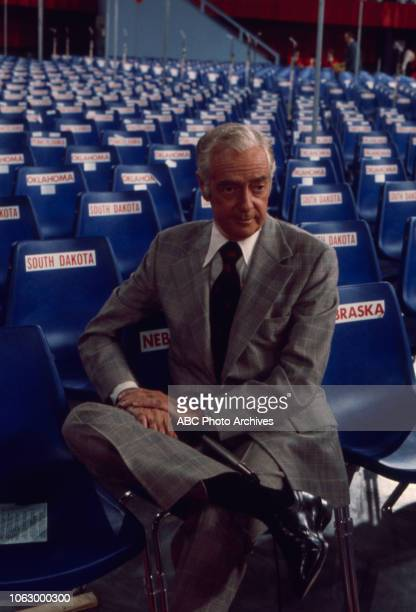 Howard K Smith at the 1976 Republican National Convention Kemper Arena