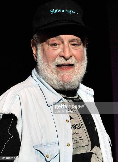 Howard Kaylan of the Turtles performs at Hippiefest at the Greek Theater on July 16 2008 in Los Angeles California