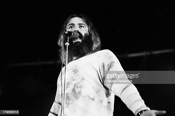 Howard Kaylan performs live on stage with Frank Zappa and the Mothers of Invention in Rotterdam Netherlands on November 27th 1971
