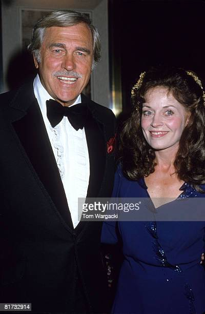 Howard Keel and wife Judy at The Sheraton Hotel Reception for Bob Hope golf tournament