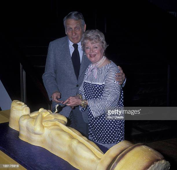 Howard Koch and Janet Gaynor attend Academy of Motion Picture Arts and Sciences Gala on March 1 1978 at the Beverly Hilton Hotel in Beverly Hills...