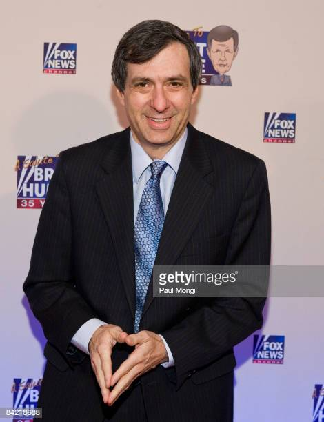 Howard Kurtz attends salute to Brit Hume at Cafe Milano on January 8, 2009 in Washington, DC.
