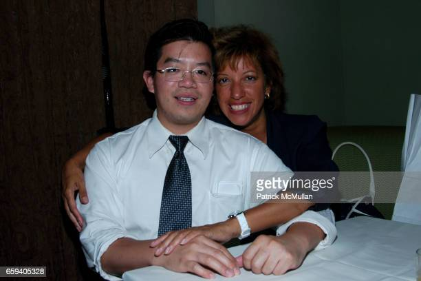 Howard Lau and Rosa Bruno attend TIMESHIPTHE ARCHITECTURE OF IMMORTALITY NYC BOOK LAUNCH at Providence on September 9 2009 in New York City