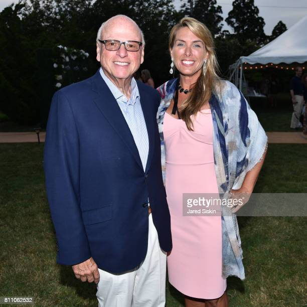Howard Lorber and Susan Bordeaux attend the Southampton Animal Shelter Foundation's Eighth Annual Unconditional Love Gala Honoring Jean Shafiroff and...