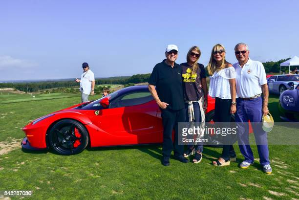 Howard Lorber Susan Bordeau Claudia Walters and Billy Walters attend The Bridge 2017 at the Former Bridgehampton Race Circuiton on September 16 2017...