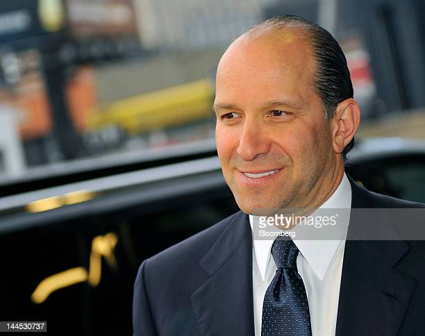 Howard Lutnick, chairman and chief executive office of Cantor Fitzgerald LP, arrives at the Robin Hood Foundation Gala in New York, U.S., on Monday,...