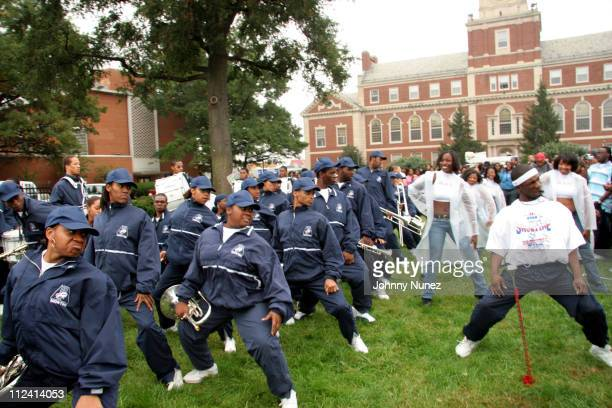 Howard Marching Band during Vibe Magazine and Boost Mobile Present YardFest Show at Howard University Great Lawn in Washington District of Columbia...