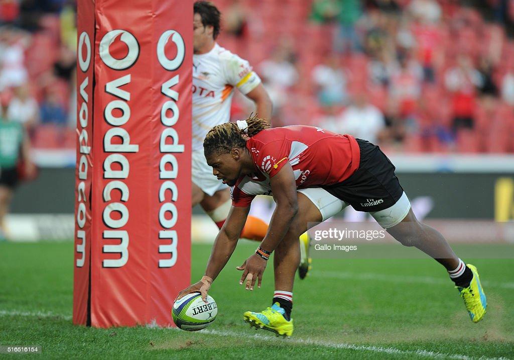 Super Rugby Rd 4 - Lions v Cheetahs : News Photo