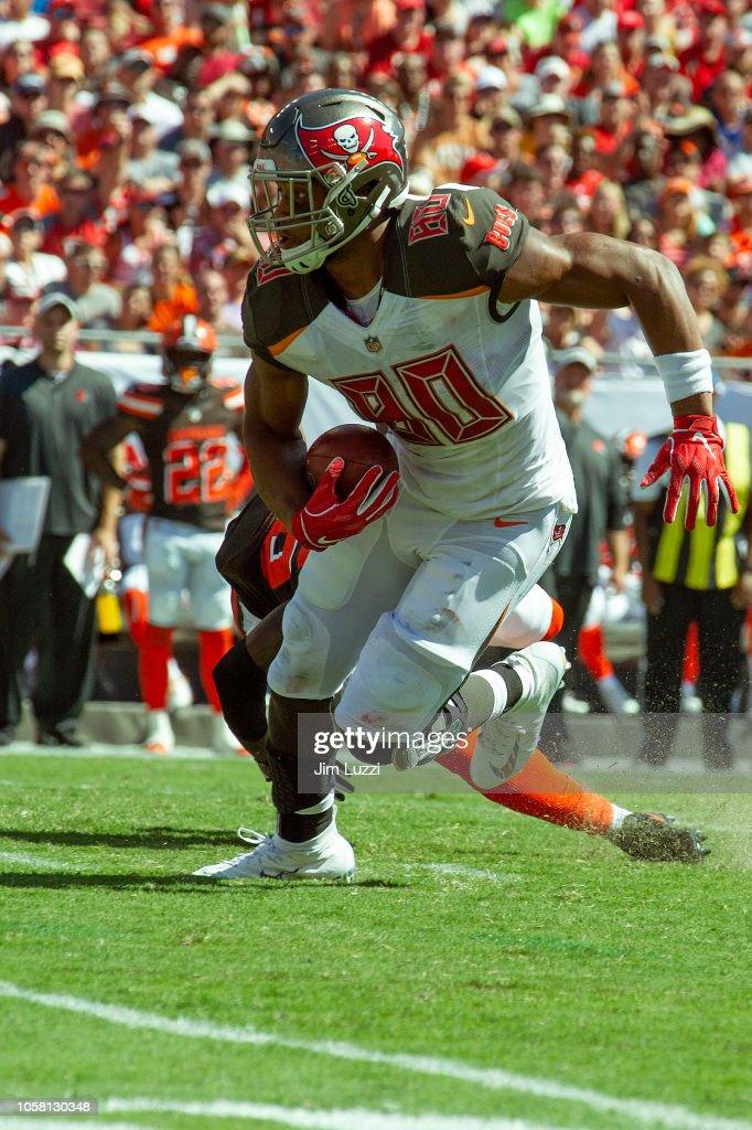 Cleveland Browns v Tampa Bay Buccaneers : Fotografia de notícias
