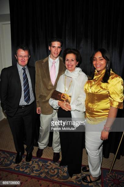 Howard P Meitiner Nick Kapstatter Rose Marie Bravo and Nancy Rosa attend PHOENIX HOUSE Phoenix Rising Award Dinner at The Plaza NYC on March 30 2009...
