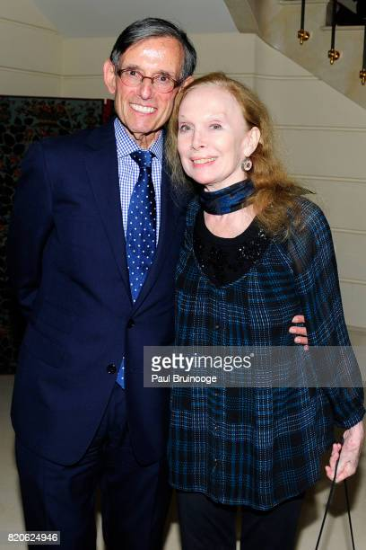 Howard Paley and Allegra Kent attend Youth America Grand Prix Jewels 50th Anniversary Celebration at Home of Susan Gutfreund on July 21 2017 in New...