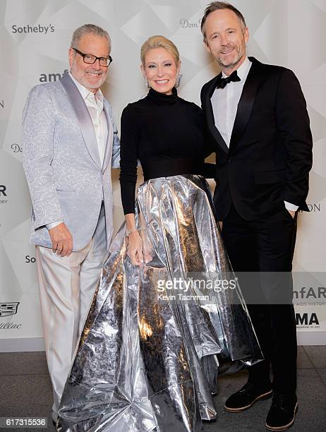 Howard Rachofsky Cindy Rachofsky and John Benjamin Hickey attend TWO x TWO For AIDS and Art 2016 on October 22 2016 in Dallas Texas