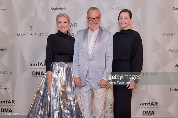 Howard Rachofsky Cindy Rachofsky and Melissa Meeks Ireland attend TWO x TWO For AIDS and Art 2016 on October 22 2016 in Dallas Texas