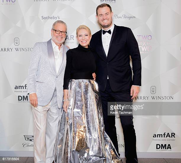 Howard Rachofsky Cindy Rachofsky and The Points Guy Brian Kelly attend TWO x TWO For AIDS and Art 2016 on October 22 2016 in Dallas Texas