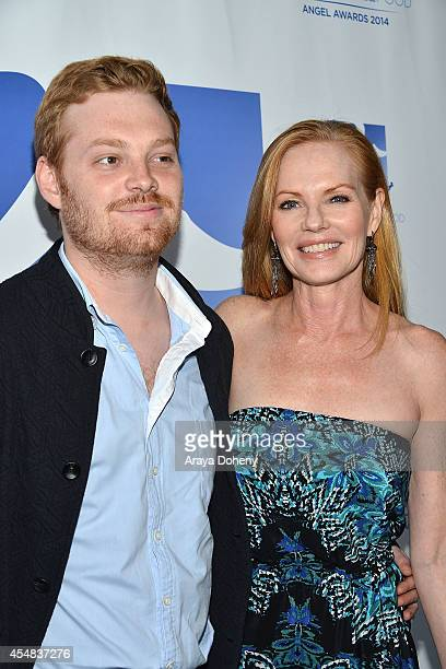 Howard Rosenberg and Marg Helgenberger attend the Project Angel Food's 25th Anniversary Angel Awards 2014 honoring Aileen Getty with the Inaugural...