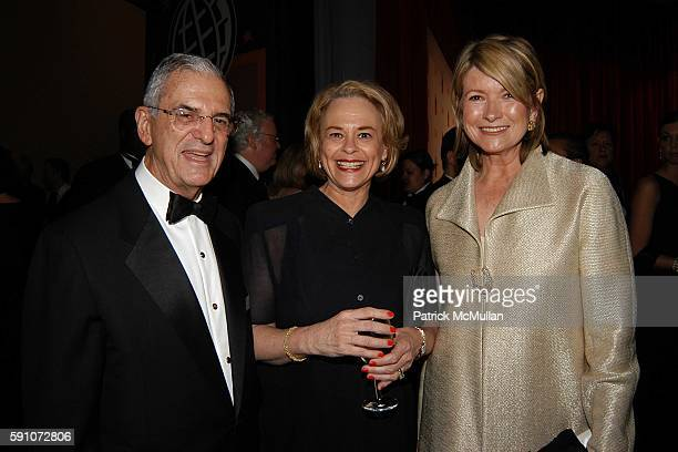 Howard Rubenstein Ann Moore and Martha Stewart attend A Celebration for Time Magazine's 100 Most Influential People Issue at Jazz at Lincoln Center...