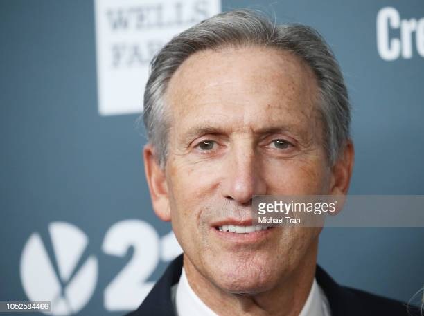 Howard Schultz attends the GLSEN Respect Awards held at the Beverly Wilshire Four Seasons Hotel on October 19 2018 in Beverly Hills California