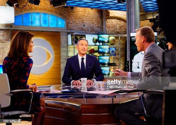 Howard Schultz guest stars on CBS This Morning with CoAnchors Norah O'Donell John Dickerson and Bianna Golodryga