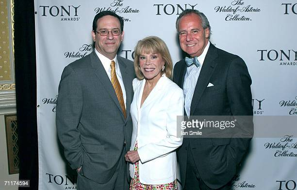Howard Sherman American Theater Wing Chairman Sondra Gilman and President Douglas Leeds attend The Tonys Awards Honor Presenters And Nominees at...