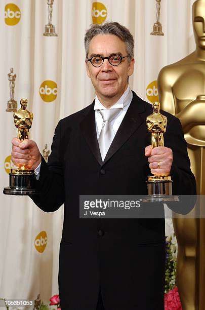 Howard Shore winner of Best Original Score and Best Original Song for Into the West both for The Lord of the Rings The Return of the King