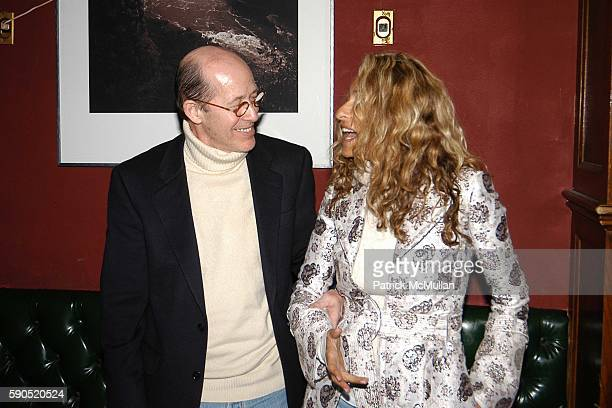 Howard Stein and Ann Jones attend Kim Garfunkel performance at Au Bar on January 17 2005 in New York City