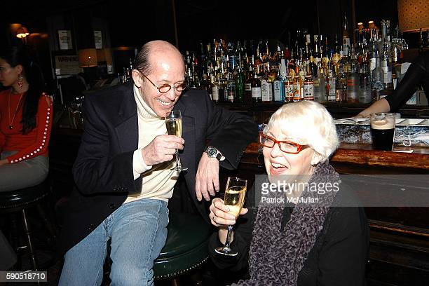 Howard Stein and Wesla Whitfield attend Kim Garfunkel performance at Au Bar on January 17 2005 in New York City