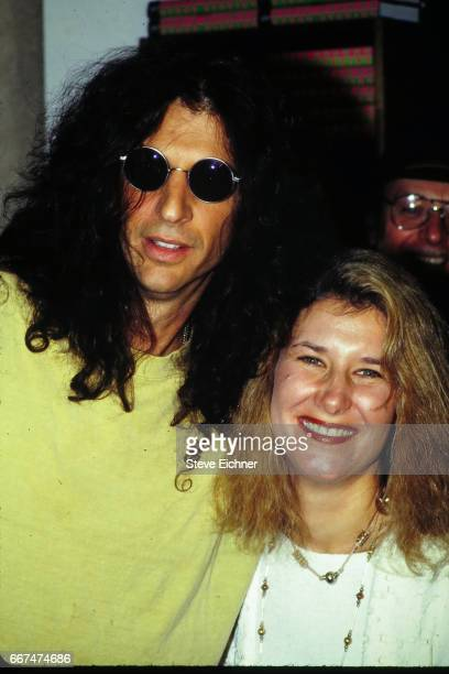 Howard Stern and Alison Berns at book signing for Private Parts at Barnes and Noble New York New York October 14 1993