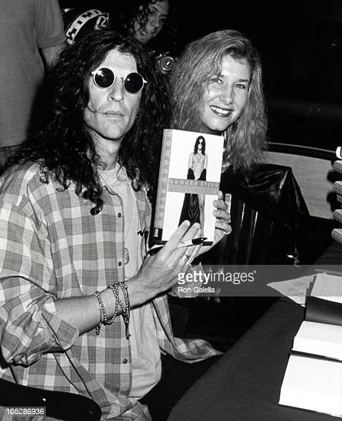 Howard Stern and Alison Stern during Howard Stern In Store Signing of Private Parts New York City at Barnes and Noble in New York City New York...