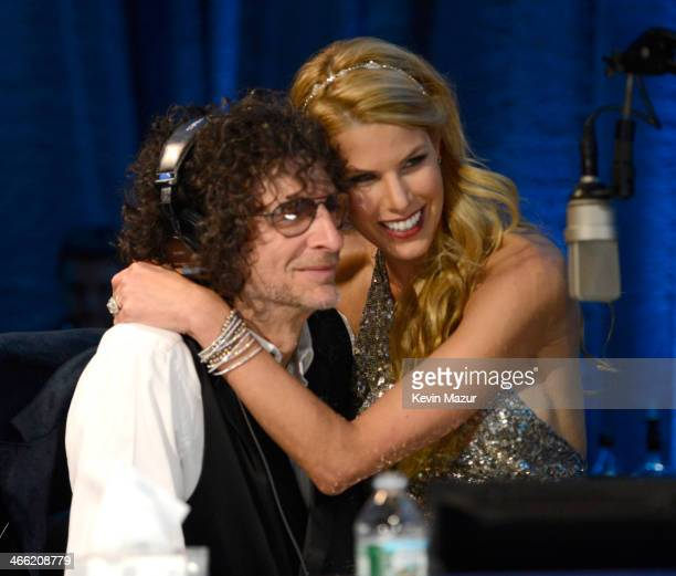 Howard Stern and Beth Stern attend Howard Stern's Birthday Bash presented by SiriusXM produced by Howard Stern Productions at Hammerstein Ballroom on...