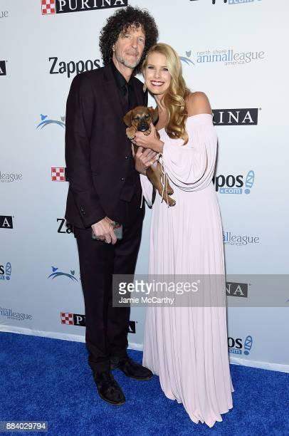 Howard Stern and Beth Stern attend the 2017 North Shore Animal League America Gala at Grand Hyatt New York on December 1 2017 in New York City