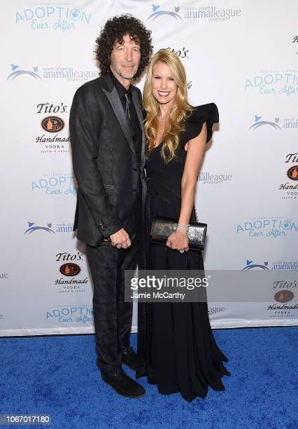 Howard Stern and Beth Stern attend the North Shore Animal League America's Annual Celebrity Get Your Rescue On Gala at Pier Sixty at Chelsea Piers on...