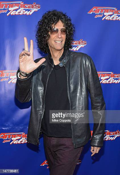 Howard Stern attends America's Got Talent Live Show at New Jersey Performing Arts Center on July 2 2012 in Newark New Jersey