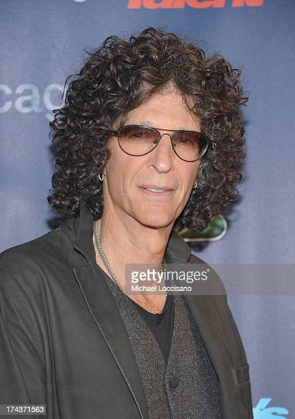 Howard Stern attends Americas Got Talent Season 8 PreShow Red Carpet Event on July 24 2013 in New York City