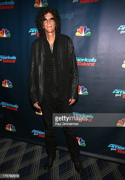 Howard Stern attends America's Got Talent Season 8 Red Carpet Event at Radio City Music Hall on August 7 2013 in New York City