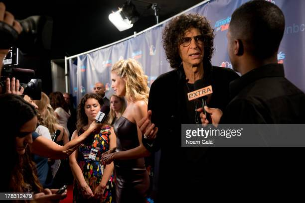 Howard Stern attends America's Got Talent Season 8 Red Carpet Event at Radio City Music Hall on August 28 2013 in New York City
