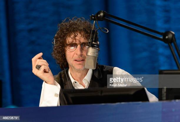 Howard Stern attends Howard Stern's Birthday Bash presented by SiriusXM produced by Howard Stern Productions at Hammerstein Ballroom on January 31...