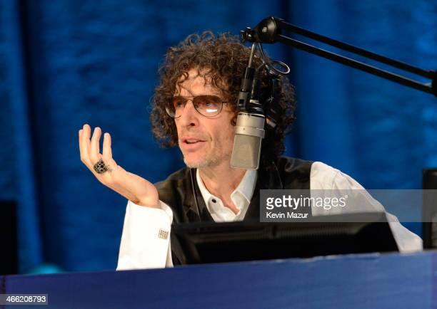 Howard Stern attends 'Howard Stern's Birthday Bash' presented by SiriusXM produced by Howard Stern Productions at Hammerstein Ballroom on January 31...