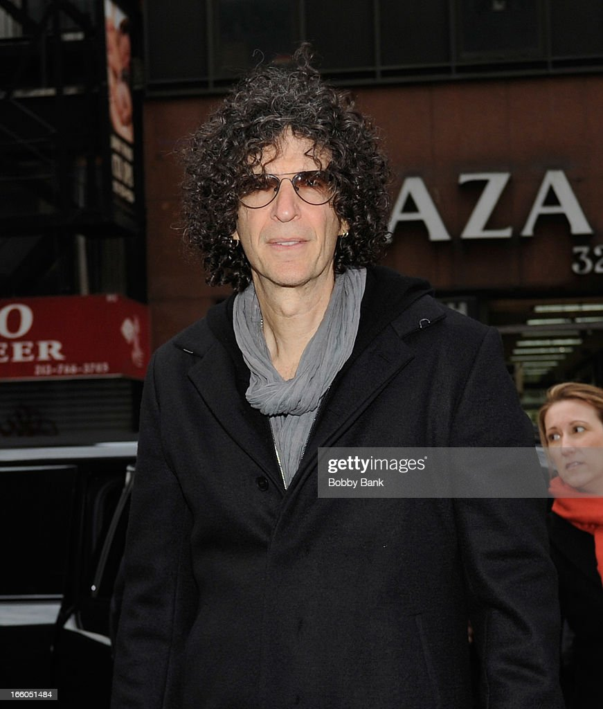Howard Stern attends the 'America's Got Talent' New York Auditions at Rockefeller Center on April 8, 2013 in New York City.