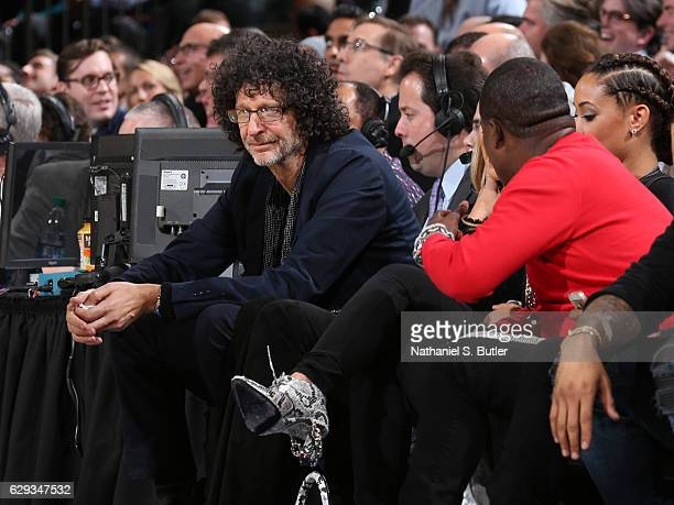 Howard Stern attends the game between the Cleveland Cavaliers and the New York Knicks at Madison Square Garden in New York New York NOTE TO USER User...