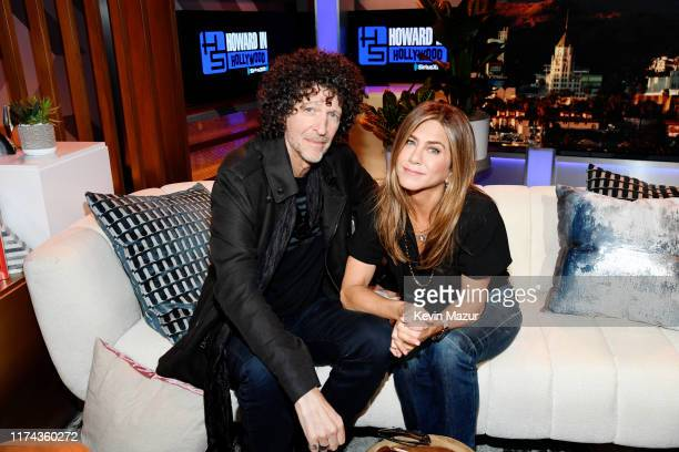 Howard Stern broadcasts from Los Angeles for the first time in decades at the SiriusXM Pandora state of the art broadcast facilities in Hollywood...