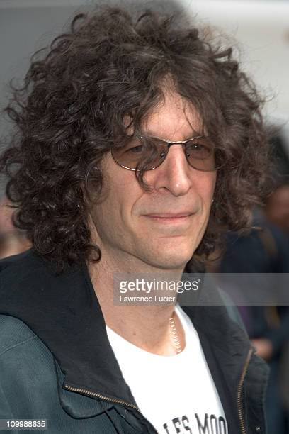 Howard Stern during Howard Stern Appears Outside the Late Show with David Letterman March 13 2006 at Ed Sullivan Thezter in New York City New York...