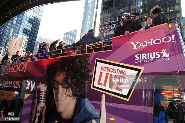 Howard Stern during Howard Stern Last Day Live Event Arrivals at Hard Rock Cafe Times Square in New York City New York United States