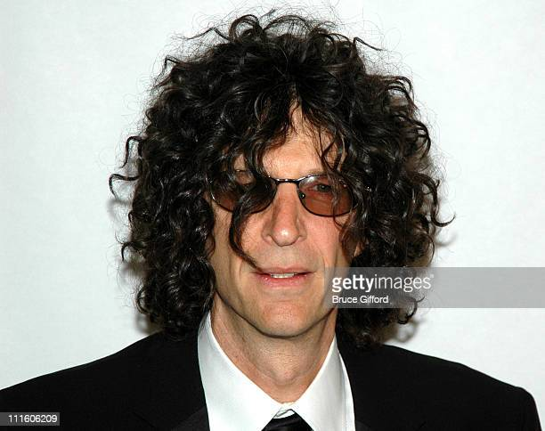 Howard Stern during In Demand Hosts The Howard Stern Film Festival at The Hudson Theater in New York City New York United States