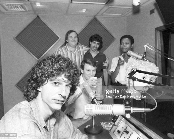Howard Stern in his office at NBC Radio