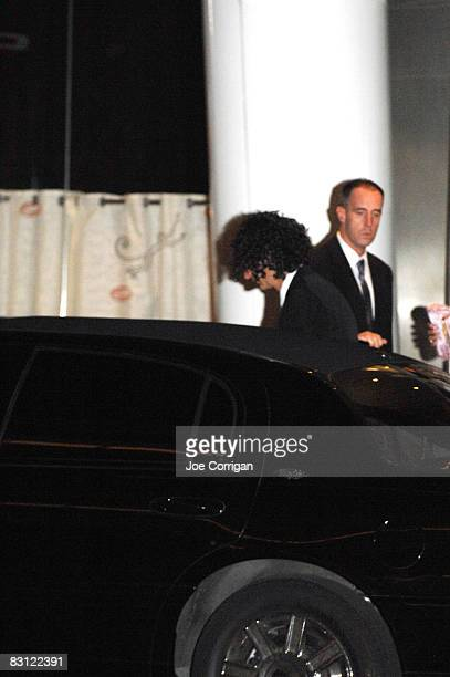 Howard Stern leaves Le Cirque after his wedding to Beth Ostrosky on October 3 2008 in New York City