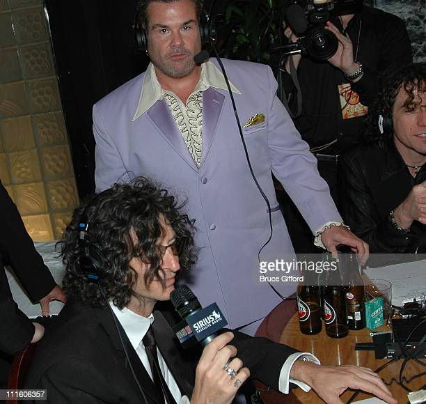 Howard Stern on Sirus Radio at After Party during In Demand Hosts The Howard Stern Film Festival at The Hudson Theater in New York City New York...